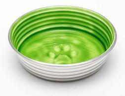 Loving Pets Le BOL Dog Bowl, Large, Chartreuse