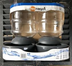 Aspen Pet LeBistro Gravity Waterer, 2.5 Gallon  BPA Free Gra