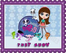 Littlest Pet Shop - Edible Cake Topper & Cupcake Topper