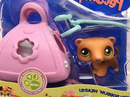 Littlest Pet Shop ~ Ferret comes with Carry Case & Leash #20