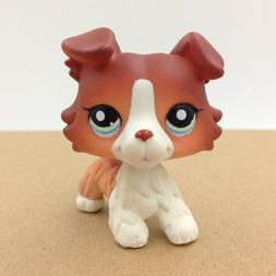 Pet Shop LPS Doll #1452 Brown Collie Dog Puppy Doll Rare Col