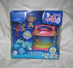 Littlest Pet Shop Mouse and Turtle with Pet Carrier 580 & 58
