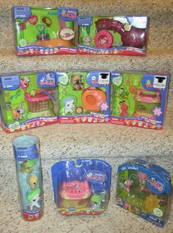 Littlest Pet Shop Portable Pet Merry Mice Scottie Dog Persia
