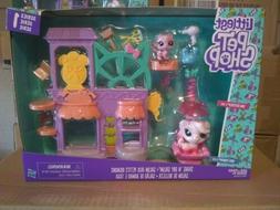 Littlest Pet Shop Series 1 Shake 'N Dry Salon Playset Comple