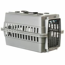 LM Aspen Pet Traditional Pet Kennel - Gray Dogs 20-30 lbs -