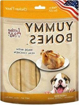 LM Loving Pets Yummy Bones - Chicken Flavor Medium/Large - 1