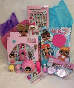 LOL Surprise Dolls Gift Bundle Lot Charm Fizz Pets Coloring