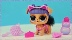 LOL Surprise Fluffy Pets Winter Disco Series DARING DOGGIE D