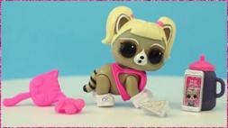 LOL Surprise Winter Disco Fuzzy Pets Oh Bandit Bandit WD 020