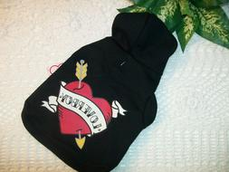 LOVERBOY HEART Hoodie Jacket Pet Dog Cat Wag-a -tude XXS S M
