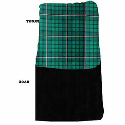 Mirage Pet Products Luxurious Plush Carrier Blanket Green Pl