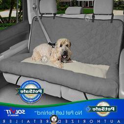 Luxury Pet Dog Car Seat Cover SUV Bench Bolster Cuddler Larg