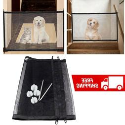 Magic Pet Dog Gate Fence Barrier Portable Kids & Pets Safety