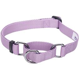Blueberry Pet Martingale Dog Collar - Large - Lavender - New