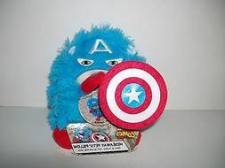 Marvel Comics Captain America Hideaway Pets Pillow Mini Trav