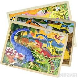 Melissa and Doug Puzzles | Wooden Jigsaw Puzzles