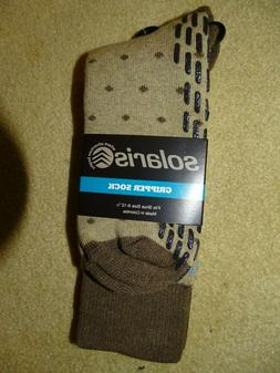 Solaris Men's Gripper Socks-Shoe size 6 to 12-1/2-NEW-Smoke-