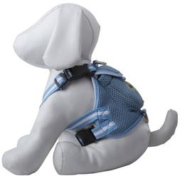 Pet Life Mesh Harness with Built in Velcro Back Pouch, Mediu