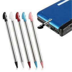 5pcs Colors Metal Retractable Stylus Touch Pen For Nintendo