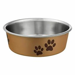 Loving Pets Metallic Bella Bowl New