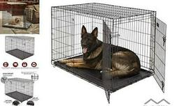 MidWest Homes for Pets Dog Crate | iCrate Single 48-Inch w/