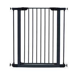 "midwest 39"" high walk-thru steel pet gate, 29"" - 38"" wide in"