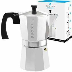 Milano Stovetop Espresso Maker Moka Pot 9 cup, 15.2 oz,