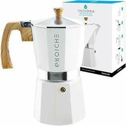 Milano Stovetop Espresso Maker Moka Pot 9 Cup- 15.2 oz,