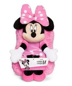 """Disney Minnie Mouse Hideaway Pillow 14"""" inches Pets Travel S"""