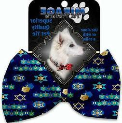 Mirage Hanukkah Bow Tie for Pets