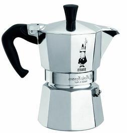 Bialetti 3 Cup Moka Express Espresso Maker - Aluminum Stovet