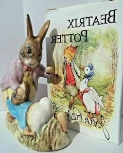 Mr. Benjamin Bunny with Peter Rabbit Beatrix Potter Figurine