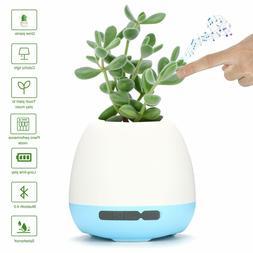 Music Plant Pot, OHNICE Wireless Bluetooth Speakers 360°Sur