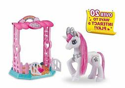 Pets Alive My Magical Unicorn in Stable Battery-Powered Inte