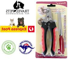 Nail Clippers Scissors Cat Dog Animal Pet Nail File Grooming