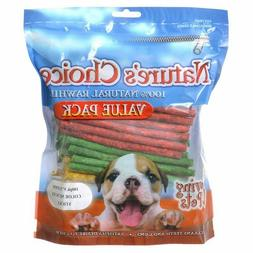 Loving Pets Nature's Choice Rawhide Munchy Stick Value Pack