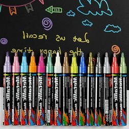 New 15 Colors Metallic Marker Pens 3mm Extra Fine Point Pain