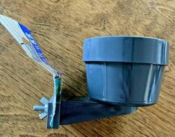 New Top Paw Crate Crock Bowl Pet Dog Food Water Hard Plastic