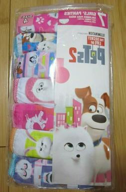 NEW girls size 4 underwear 7 pairs cotton briefs THE SECRET