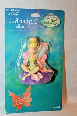 NEW  IN PACKAGE TINKERBELL  FAIRIES CANDLE PARTY SUPPLIES