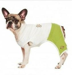 New Martha Camp Stewart Pets Doggy Gym Jumpsuit Pajamas PJ S