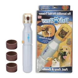 NEW Pedi Paws Nail Trimmer Grinder Care Clipper Grooming Too
