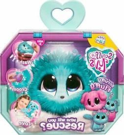 New Scruff a Luvs Little Live Pets Blue Mystery Rescue Pet G