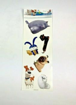 NEW THE SECRET LIFE OF PETS 2 WALL STICKERS DECALS NEW EASIL