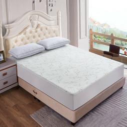 new waterproof bamboo mattress pad protector soft