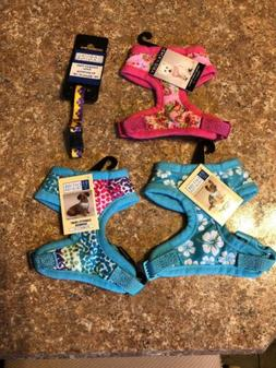 NEW! XS dog pet Harnesses, East Side Collection, Flowers Con