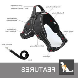 Pawspace No Pull Dog Pet Premium Harness Adjustable Vest & L