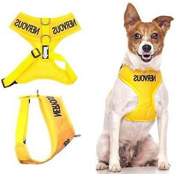 Non Pull Front Back Ring Dog Pet Vest Harness Padded Waterpr