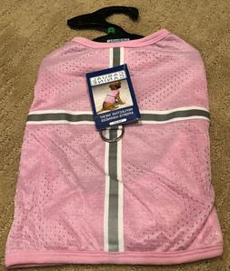 Casual Canine NWT Pink REFLECTIVE HARNESS PET DOG TEE SHIRT