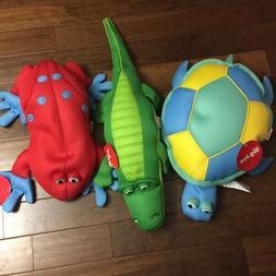 NWT Big joe pool petz Frog  Alligator And Turtle Pets Lot Fl